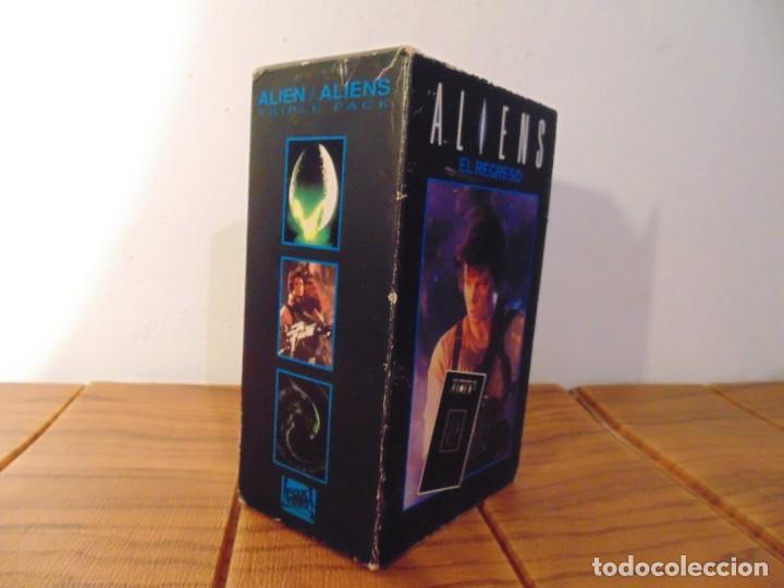 Series de TV: Vhs Edición Especial 3 vhs * Alien el 8º Pasajero + Aliens el Regreso + Como se hizo Alien 3 * - Foto 9 - 275941843
