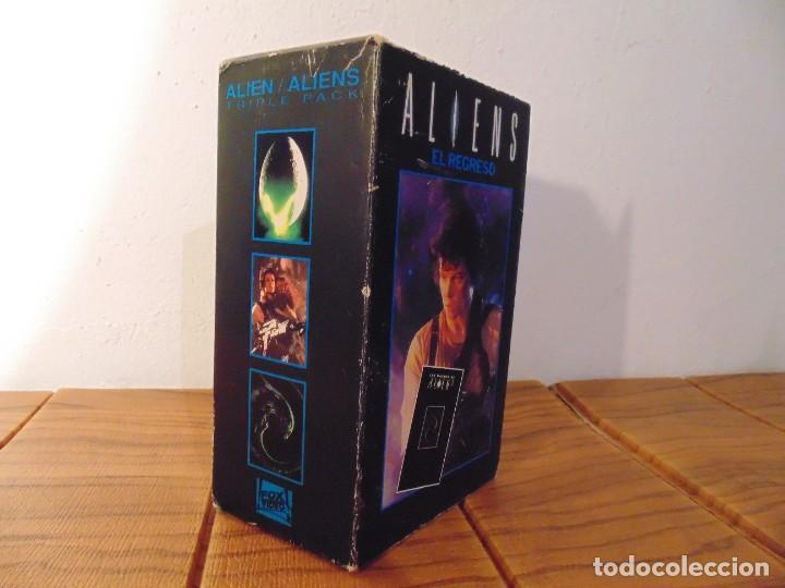 Series de TV: Vhs Edición Especial 3 vhs * Alien el 8º Pasajero + Aliens el Regreso + Como se hizo Alien 3 * - Foto 10 - 275941843