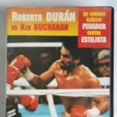 Series de TV: BOXEO GRANDES CAMPEONES ROBERTO DURÁN VS KEN BUCHANAN N° 3 VHS. Lote 276467958