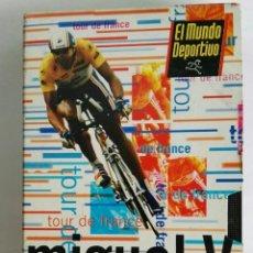 Series de TV: MIGUEL V EL MUNDO DEPORTIVO TOUR DE FRANCE VHS. Lote 276476078