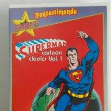 Series de TV: SUPERMAN STARDUST FANTASTIMONDO VHS CAPITULOS AÑOS 60 EN ITALIANO. Lote 276576528