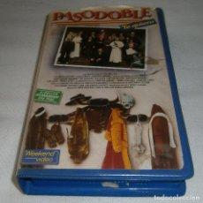 Series de TV: VIDEO VHS PASODOBLE TE QUIERO UNA PRODUCCION DE TESAURO S.A CON FERNANDO REY. Lote 278604493