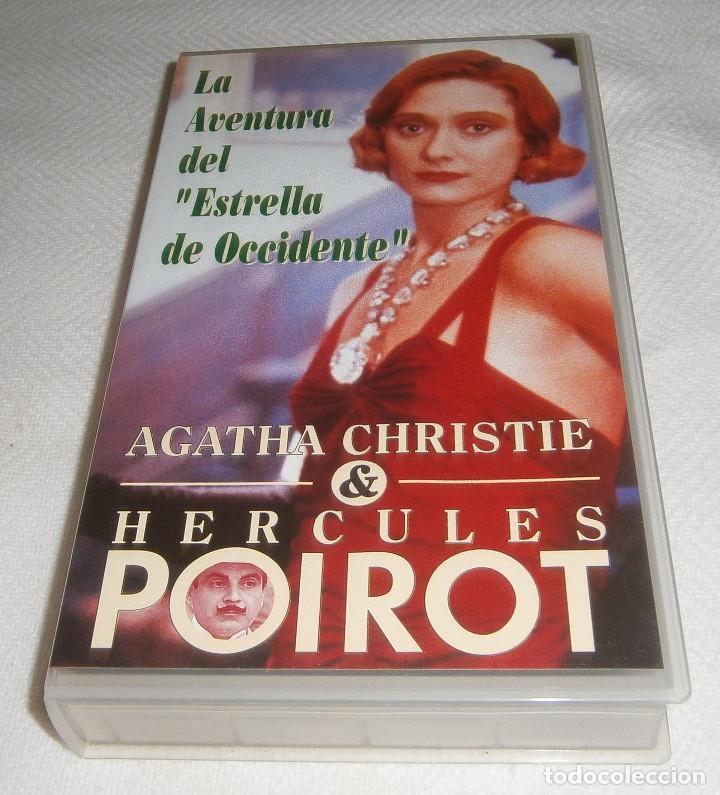VIDEO VHS LA AVENTURA DEL ESTRELLA DE OCCIDENTE AGATHA CHRISTIE (Series TV en VHS )