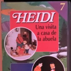 Series de TV: VHS HEIDI Y MARCO Nº 7. Lote 283298193