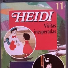 Series de TV: VHS HEIDI Y MARCO Nº 11. Lote 283298318