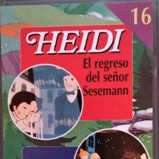 Series de TV: VHS HEIDI Y MARCO Nº 16. Lote 283298503