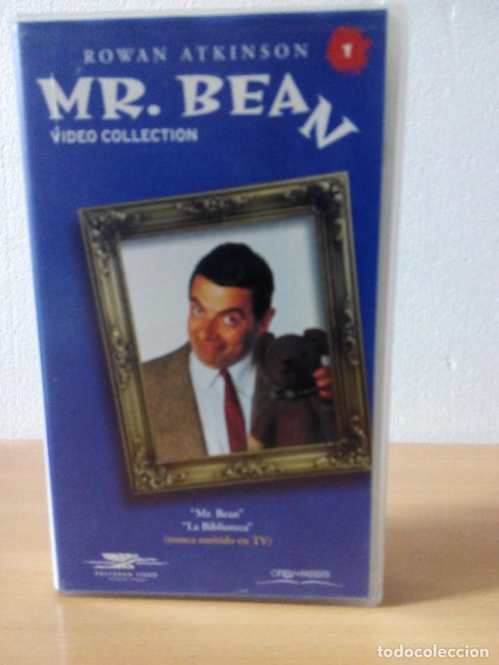 Series de TV: COLECCION DE 14 VIDEOS EN VHS DE MR.BEAN +OBSEQUIO DE 5 RELOJES VINTAGE DE CABALLERO - Foto 2 - 286881843