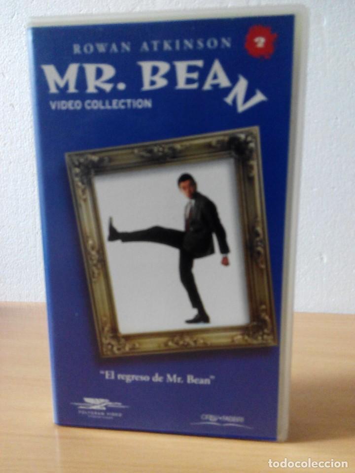 Series de TV: COLECCION DE 14 VIDEOS EN VHS DE MR.BEAN +OBSEQUIO DE 5 RELOJES VINTAGE DE CABALLERO - Foto 3 - 286881843