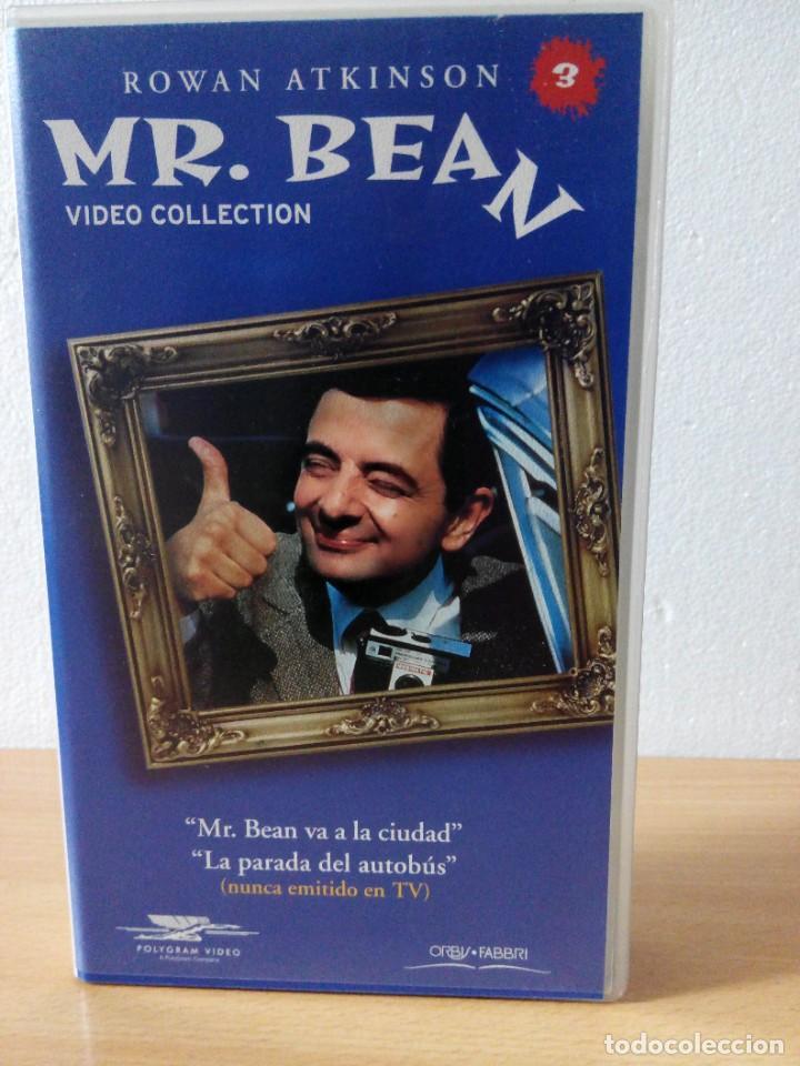 Series de TV: COLECCION DE 14 VIDEOS EN VHS DE MR.BEAN +OBSEQUIO DE 5 RELOJES VINTAGE DE CABALLERO - Foto 4 - 286881843