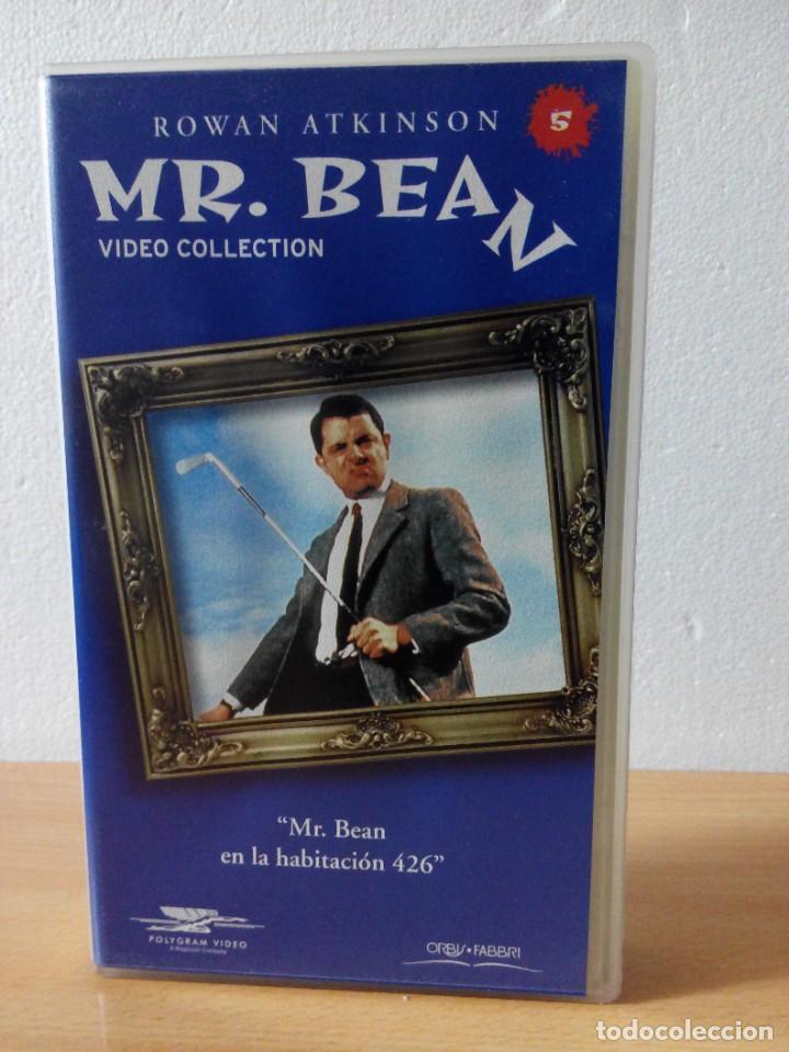 Series de TV: COLECCION DE 14 VIDEOS EN VHS DE MR.BEAN +OBSEQUIO DE 5 RELOJES VINTAGE DE CABALLERO - Foto 6 - 286881843