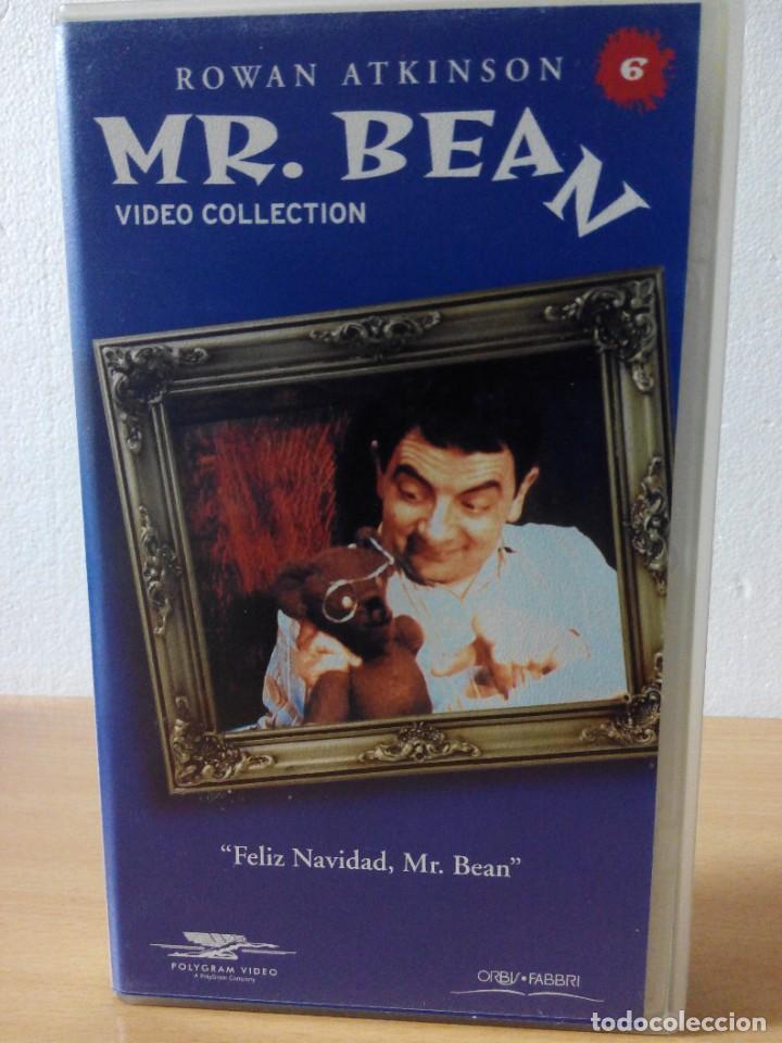 Series de TV: COLECCION DE 14 VIDEOS EN VHS DE MR.BEAN +OBSEQUIO DE 5 RELOJES VINTAGE DE CABALLERO - Foto 7 - 286881843