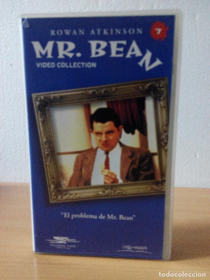 Series de TV: COLECCION DE 14 VIDEOS EN VHS DE MR.BEAN +OBSEQUIO DE 5 RELOJES VINTAGE DE CABALLERO - Foto 8 - 286881843
