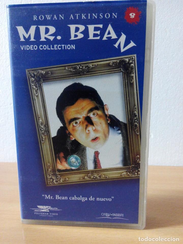 Series de TV: COLECCION DE 14 VIDEOS EN VHS DE MR.BEAN +OBSEQUIO DE 5 RELOJES VINTAGE DE CABALLERO - Foto 9 - 286881843