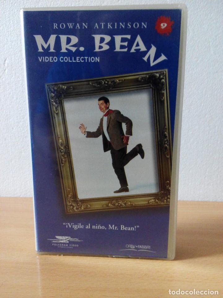 Series de TV: COLECCION DE 14 VIDEOS EN VHS DE MR.BEAN +OBSEQUIO DE 5 RELOJES VINTAGE DE CABALLERO - Foto 10 - 286881843