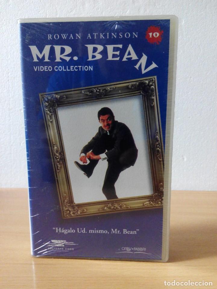 Series de TV: COLECCION DE 14 VIDEOS EN VHS DE MR.BEAN +OBSEQUIO DE 5 RELOJES VINTAGE DE CABALLERO - Foto 11 - 286881843