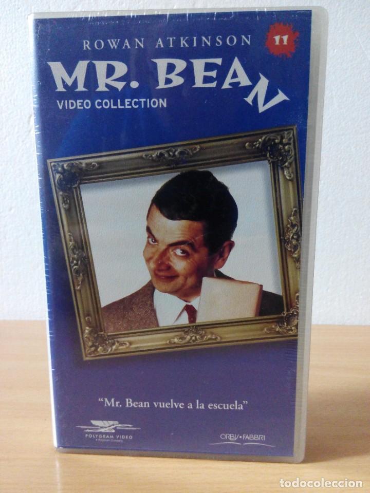Series de TV: COLECCION DE 14 VIDEOS EN VHS DE MR.BEAN +OBSEQUIO DE 5 RELOJES VINTAGE DE CABALLERO - Foto 12 - 286881843