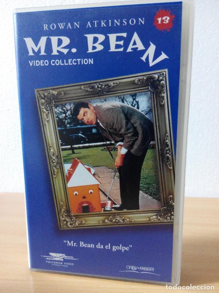 Series de TV: COLECCION DE 14 VIDEOS EN VHS DE MR.BEAN +OBSEQUIO DE 5 RELOJES VINTAGE DE CABALLERO - Foto 14 - 286881843