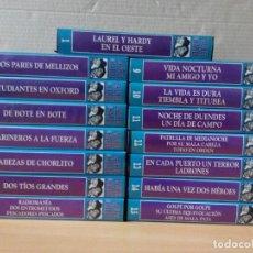Series de TV: COLECCION DE 15 VIDEOS EN VHS DE LAUREL & HARDY +OBSEQUIO DE RELOJ DE PULSERA DE CABALLERO. Lote 287216228