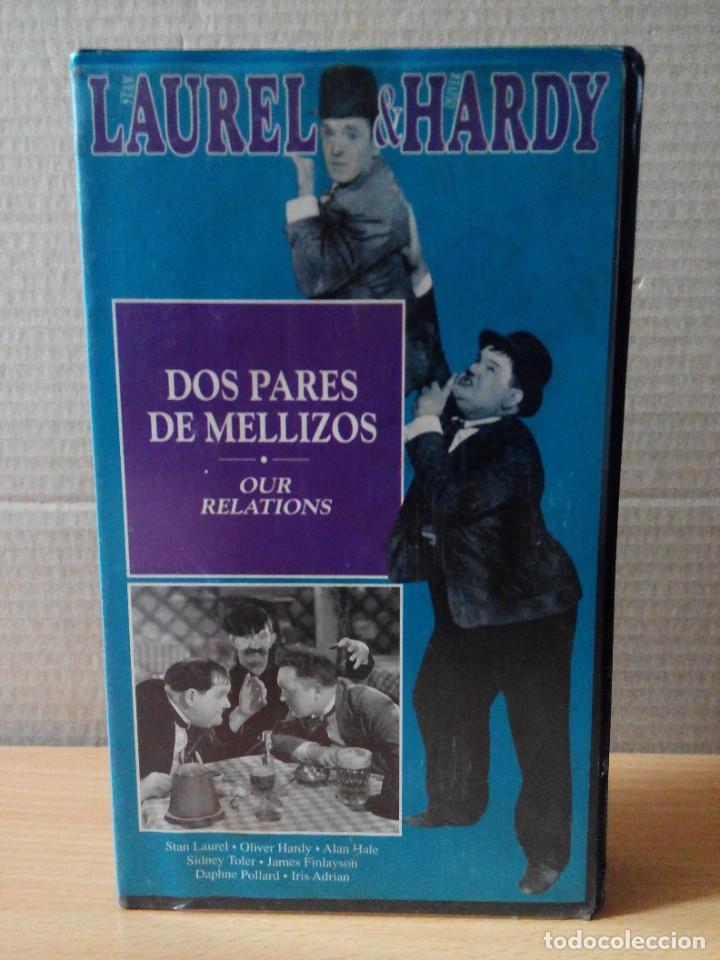 Series de TV: COLECCION DE 15 VIDEOS EN VHS DE LAUREL & HARDY +OBSEQUIO DE RELOJ DE PULSERA DE CABALLERO - Foto 3 - 287216228