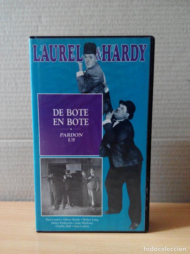 Series de TV: COLECCION DE 15 VIDEOS EN VHS DE LAUREL & HARDY +OBSEQUIO DE RELOJ DE PULSERA DE CABALLERO - Foto 5 - 287216228