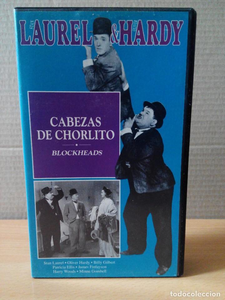 Series de TV: COLECCION DE 15 VIDEOS EN VHS DE LAUREL & HARDY +OBSEQUIO DE RELOJ DE PULSERA DE CABALLERO - Foto 7 - 287216228