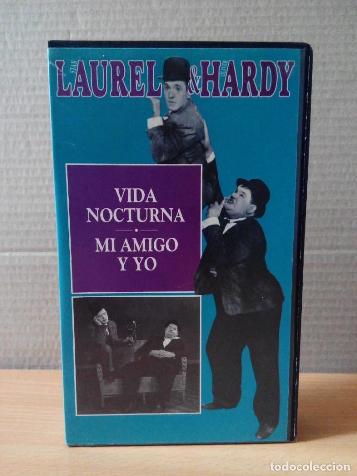 Series de TV: COLECCION DE 15 VIDEOS EN VHS DE LAUREL & HARDY +OBSEQUIO DE RELOJ DE PULSERA DE CABALLERO - Foto 10 - 287216228