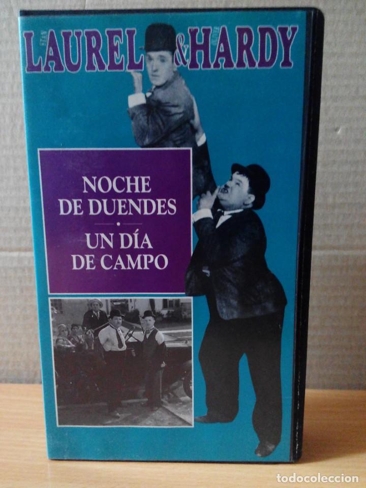 Series de TV: COLECCION DE 15 VIDEOS EN VHS DE LAUREL & HARDY +OBSEQUIO DE RELOJ DE PULSERA DE CABALLERO - Foto 12 - 287216228