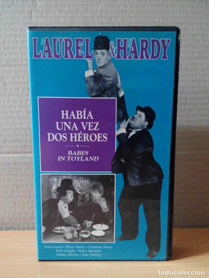 Series de TV: COLECCION DE 15 VIDEOS EN VHS DE LAUREL & HARDY +OBSEQUIO DE RELOJ DE PULSERA DE CABALLERO - Foto 15 - 287216228