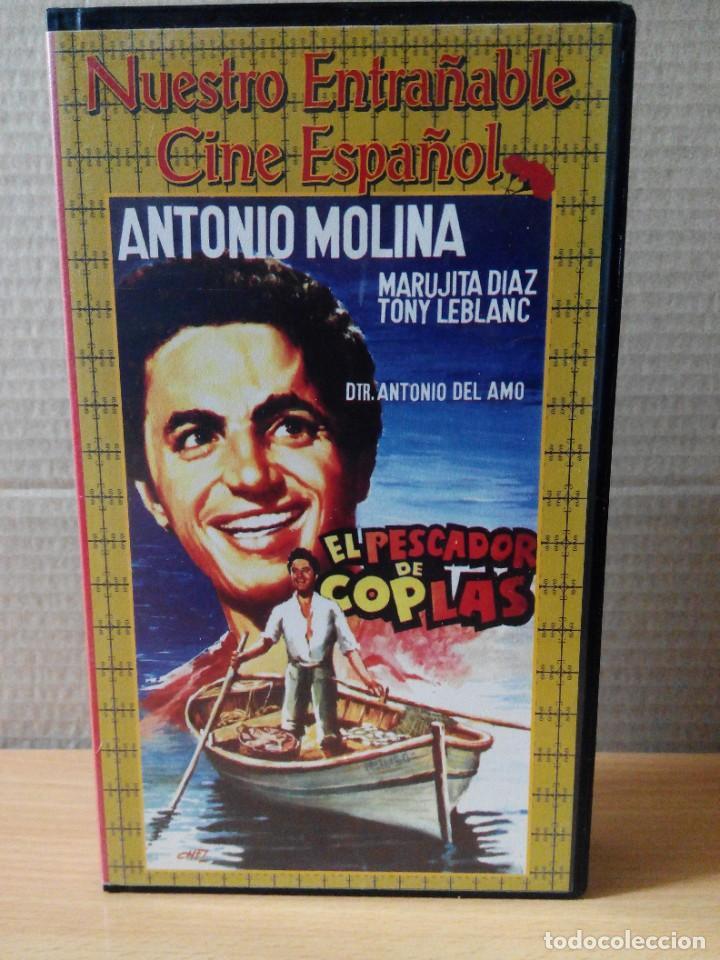 Series de TV: COLECCION DE 7 VIDEOS EN VHS DE TODAS LAS PELICULAS DE ANTONIO MOLINA + REGALO - Foto 3 - 287220598