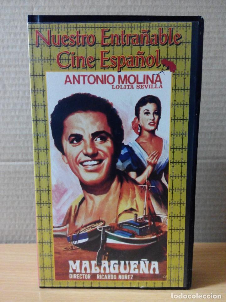 Series de TV: COLECCION DE 7 VIDEOS EN VHS DE TODAS LAS PELICULAS DE ANTONIO MOLINA + REGALO - Foto 5 - 287220598