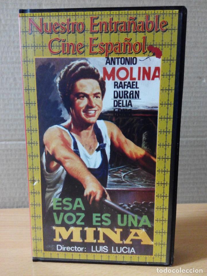 Series de TV: COLECCION DE 7 VIDEOS EN VHS DE TODAS LAS PELICULAS DE ANTONIO MOLINA + REGALO - Foto 7 - 287220598