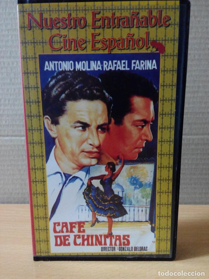 Series de TV: COLECCION DE 7 VIDEOS EN VHS DE TODAS LAS PELICULAS DE ANTONIO MOLINA + REGALO - Foto 13 - 287220598