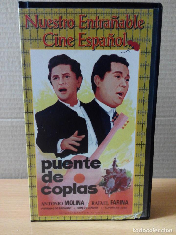 Series de TV: COLECCION DE 7 VIDEOS EN VHS DE TODAS LAS PELICULAS DE ANTONIO MOLINA + REGALO - Foto 15 - 287220598
