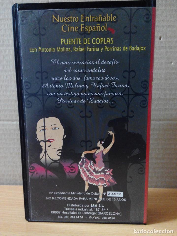 Series de TV: COLECCION DE 7 VIDEOS EN VHS DE TODAS LAS PELICULAS DE ANTONIO MOLINA + REGALO - Foto 17 - 287220598