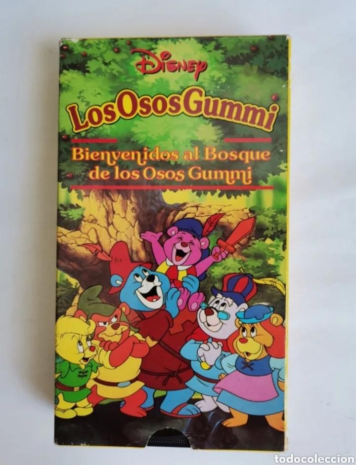LOS OSOS GUMMI BIENVENIDOS AL BOSQUE DE LOS OSOS GUMMI DISNEY VHS (Series TV en VHS )