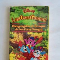 Series de TV: LOS OSOS GUMMI BIENVENIDOS AL BOSQUE DE LOS OSOS GUMMI DISNEY VHS. Lote 287610473