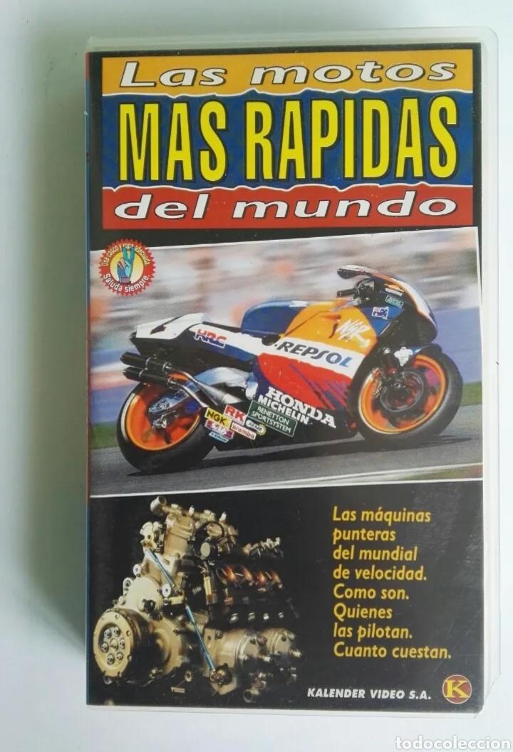 LAS MOTOS MÁS RÁPIDAS DEL MUNDO VHS MUNDIAL MOTOCICLISMO (Series TV en VHS )
