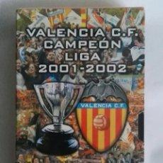 Series de TV: VALENCIA C.F. CAMPEÓN DE LIGA 2001-2002 VHS PRECINTADO. Lote 287623138