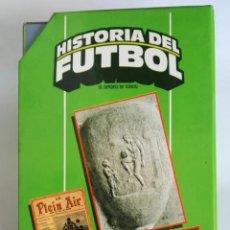 Series de TV: HISTORIA DEL FÚTBOL 3 CINTAS VHS COMENTARIOS MATIAS PRATS 1991. Lote 287624978
