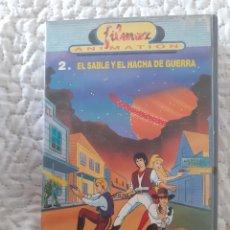 Series de TV: JINETE I SABLE. CINE VHS DIBUJOS ANIMADOS.. Lote 288653458