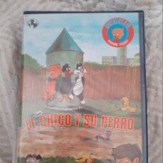 Series de TV: EL CHICO I SU PERRO. CINE EN VHS. DIBUJOS ANIMADOS.. Lote 288654498