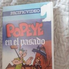 Series de TV: POPELLE EN EL PASADO.CINE VHS DIBUJOS ANIMADOS.. Lote 288654728