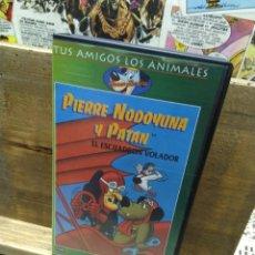 Series de TV: PIERRE NODOYUANA Y PATÁN. EL ESCUADRÓN VOLADOR. VHS. Lote 288680193