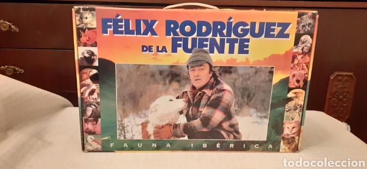 18 VIDEOS VHS DE FELIX RODRÍGUEZ DE LA FUENTE, EN SU CAJA (Series TV en VHS )
