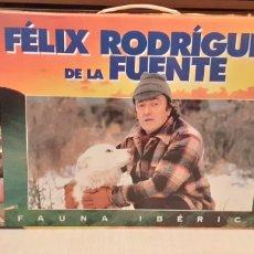 Series de TV: 18 VIDEOS VHS DE FELIX RODRÍGUEZ DE LA FUENTE, EN SU CAJA. Lote 289506493
