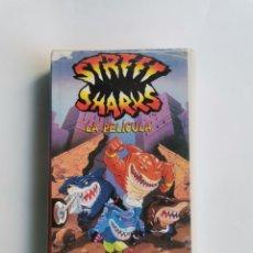 Series de TV: STREET SHARKS COMO EMPEZÓ TODO VHS DIBUJOS ANIMADOS 1995. Lote 292020553