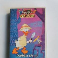 Series de TV: DONALD EN EL PAÍS DE LAS MATEMÁTICAS VHS. Lote 292021808