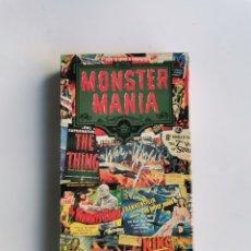 Series de TV: MONSTER MANIA VHS USA 1998 EN INGLÉS. Lote 292023563