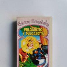 Series de TV: PULGARCITO Y PULGARCITA VHS CLÁSICOS ENCANTADOS. Lote 292024423