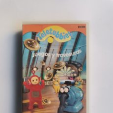 Series de TV: TELETUBBIES JUEGOS Y TRAVESURAS VHS. Lote 292035428
